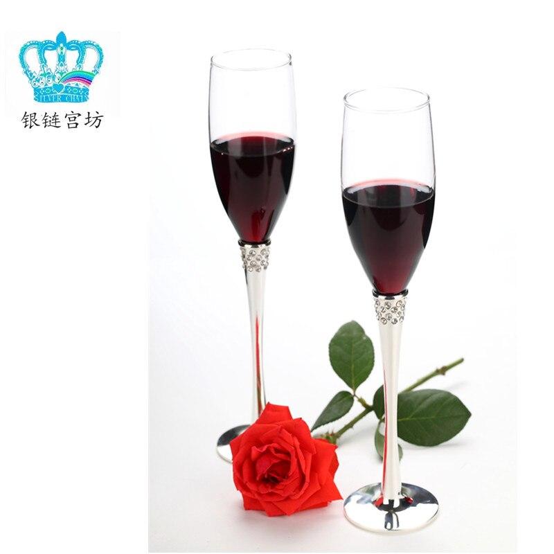Champagne verre diamant hanap bulle tasse vin rouge tasse cadeau tasse amoureux cadeau