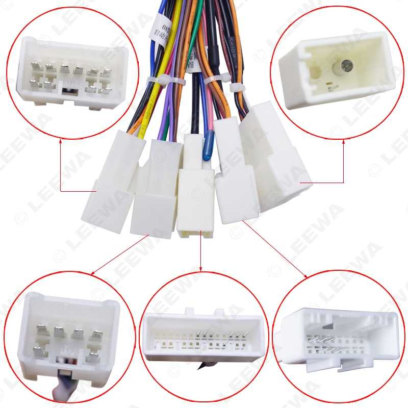 Detail Feedback Questions about LEEWA 16P Car Head Unit Wire Harness