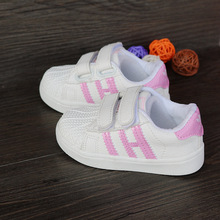 Boys shoes 2016 spring tenis children kids sneakers casual Shoes For Girls pu leather Sports Casual Shoes girl school shoes