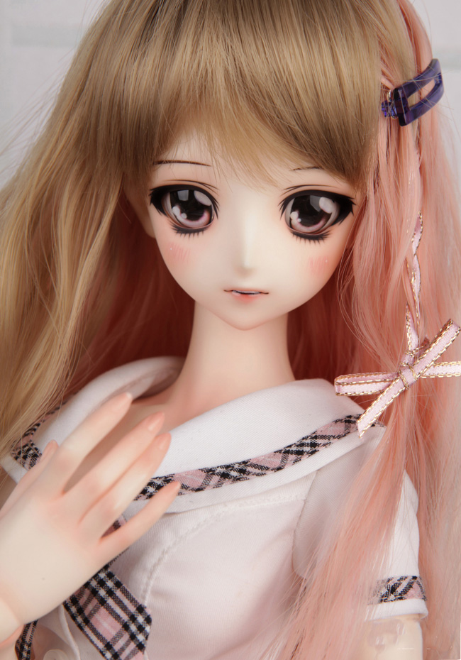 1/3 scale doll Nude BJD Recast BJD/SD Beautiful Girl Resin Doll Model Toy.not include clothes,shoes,wig and accessories A15A921 1 4 scale doll nude bjd recast bjd sd kid cute girl resin doll model toys not include clothes shoes wig and accessories a15a457