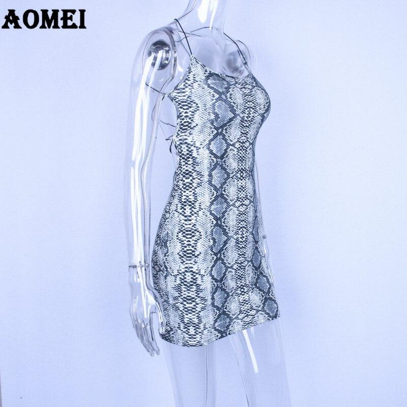 Aliexpress.com   Buy Dress Sexy Women Clubwear Snake Skin Printed ... b9ff388704ee