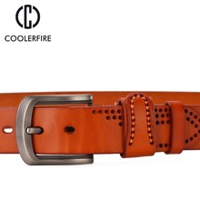 Luxury Pin Buckle Leather Belt For Men