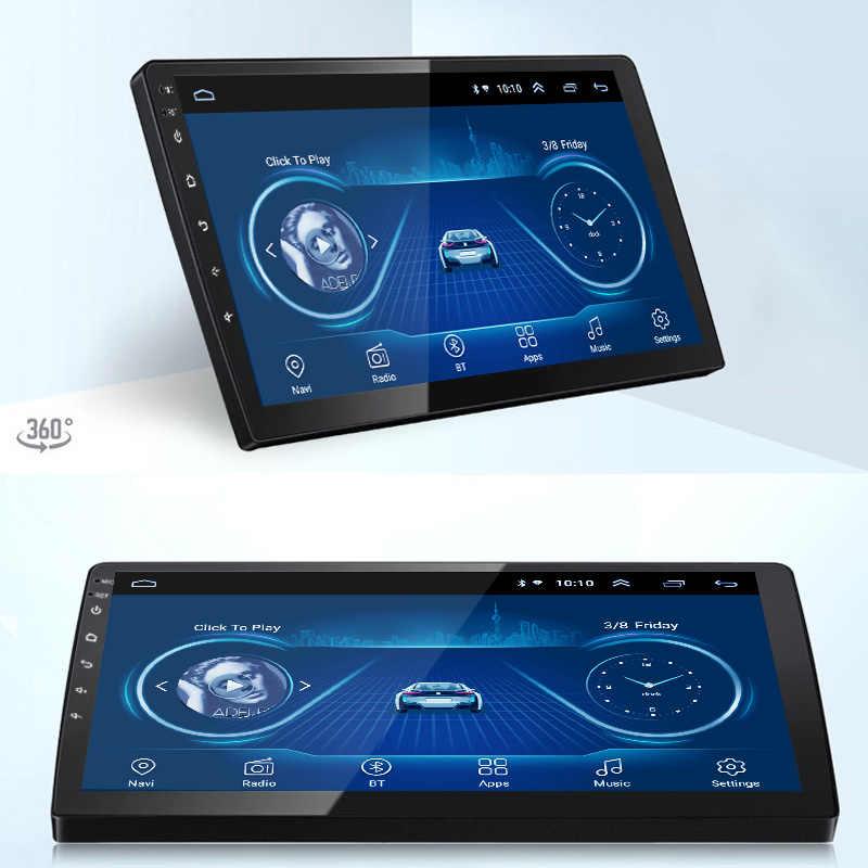 9 بوصة أندرويد 8.1 كامل شاشة تعمل باللمس سيارة نظام الوسائط المتعددة لشركة هيونداي i10 2013-2016 سيارة لتحديد المواقع جهاز التتبع بالراديو