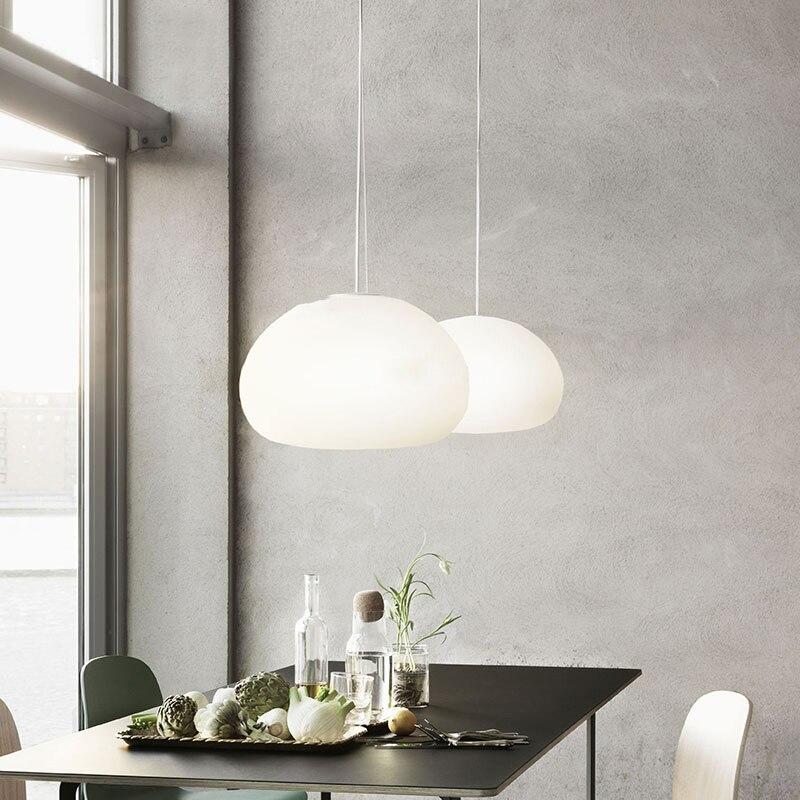 Nordic Loft Light Pendant Light Kitchen Hanging Reading De Mosaic Light Luminaire Singe Hanglamp Industrial Lamp Master Bedroom