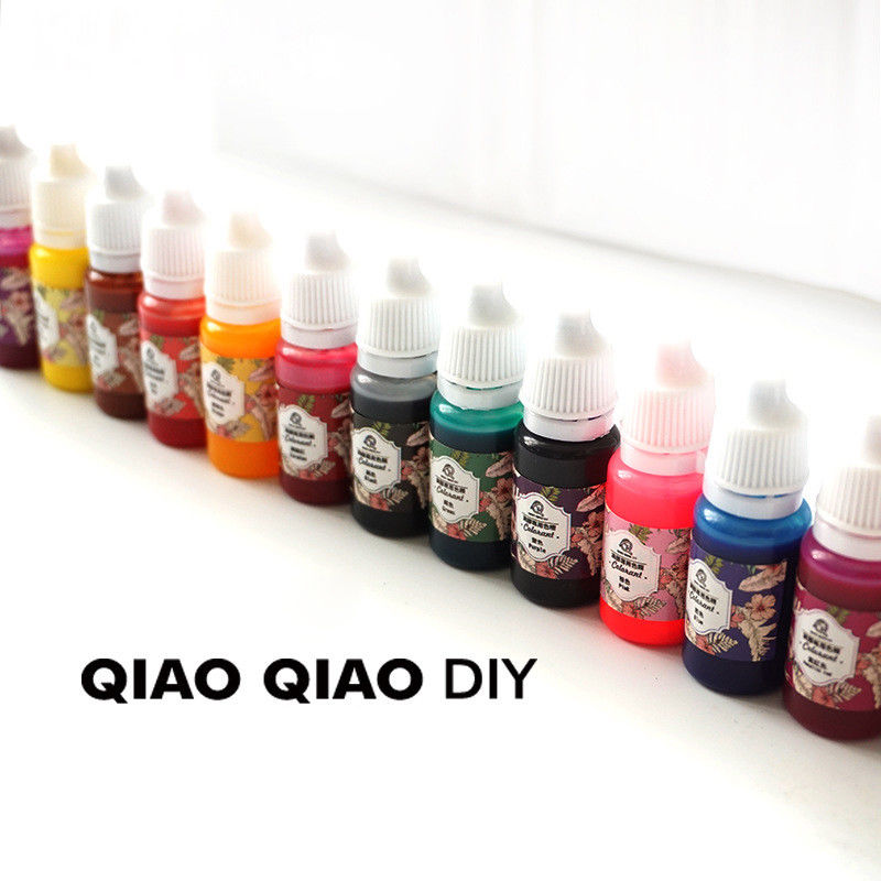 Hot Epoxy Color UV Resin Coloring Dye ColorantResin Pigment Art Crafts mix