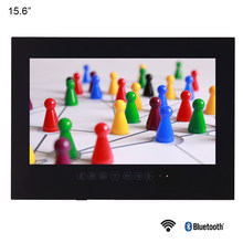 "Souria 15,6 ""Negro baño impermeable LED Android 9,0 Smart Wi-Fi ducha oculta TV Monitor Hotel televisión(China)"