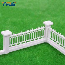 5pcs/lot  1/200 Resin Model Scene Accessories Roadside Fence