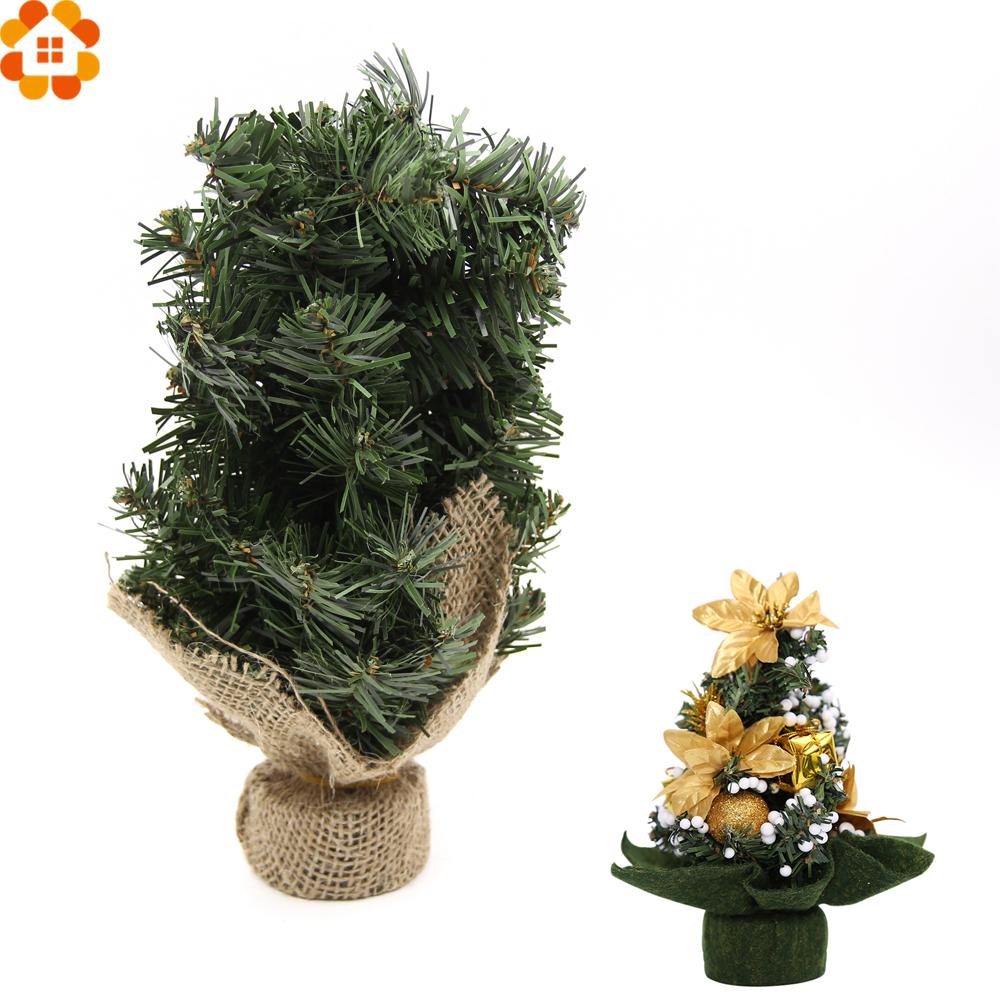 unid mini verde rbol de navidad rboles de navidad diy decorativos