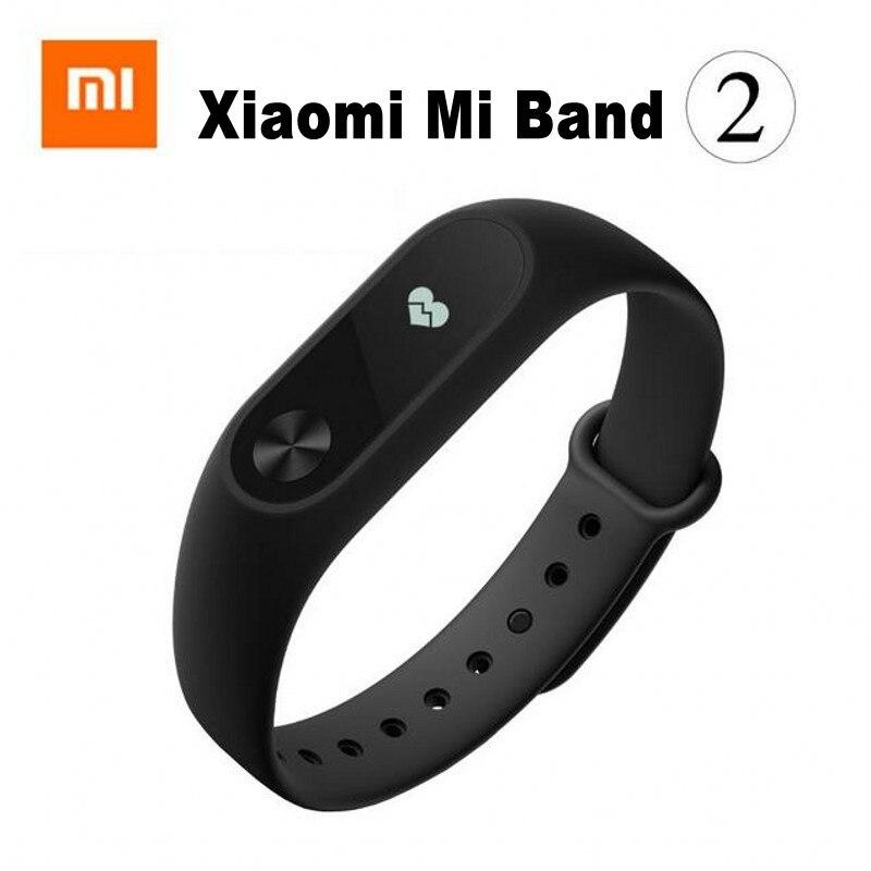 imágenes para Original Xiaomi Mi Banda 2 Miband 2 con Pantalla OLED Monitor de Frecuencia Cardíaca En Tiempo Real Inteligente Pulseras de Colores soporte de veinte días trabajo