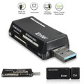 Alta Velocidade Todos em 1 USB 3.0 Cartão de Memória Multi leitor conector do adaptador para micro sd/tf/ms/m2 5 gbps memory stick atacado preço