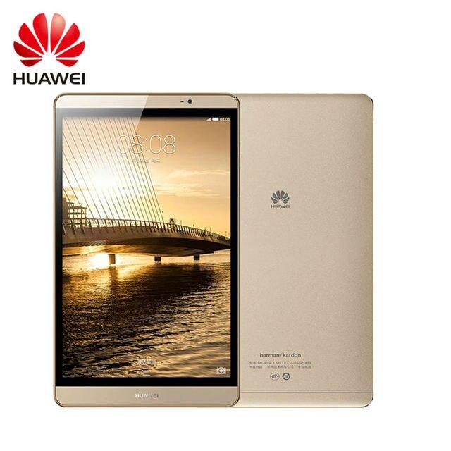 Оригинальный 8.0 ДЮЙМОВ Huawei Mediapad М2 Octa Ядро WIFI/LTE Таблетки Металла Кирин 930 32 ГБ ROM 3 ГБ RAM 8.0MP Нескольких языков