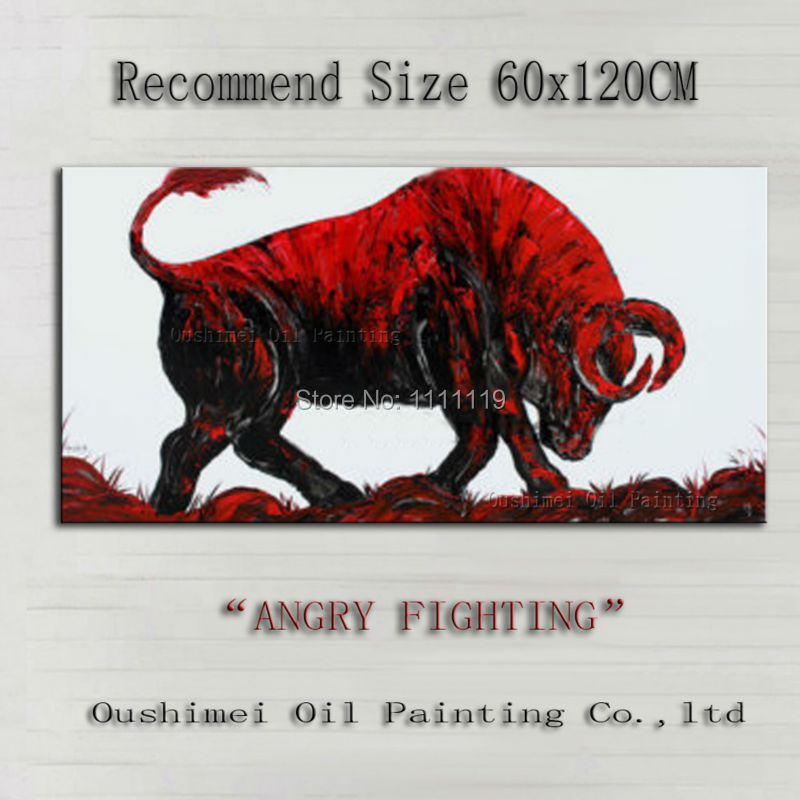 hand-painted-abstract-animal-oil-painting-imitation-paintings-modern-fontbred-b-font-fontbbull-b-fon