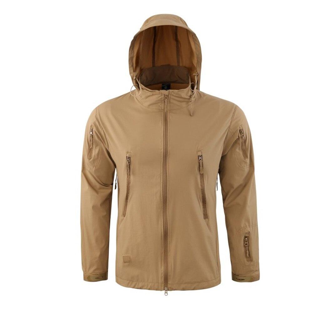 Shanghai Story décontracté léger imperméable manteaux hommes automne militaire tactique vestes armée Soft Shell coupe-vent homme veste