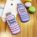 Kisscase engraçado dos desenhos animados case para iphone 5s se 3d casos de silicone garrafa para iphone 5 se borracha gel feminino doce capa para iphone 5s