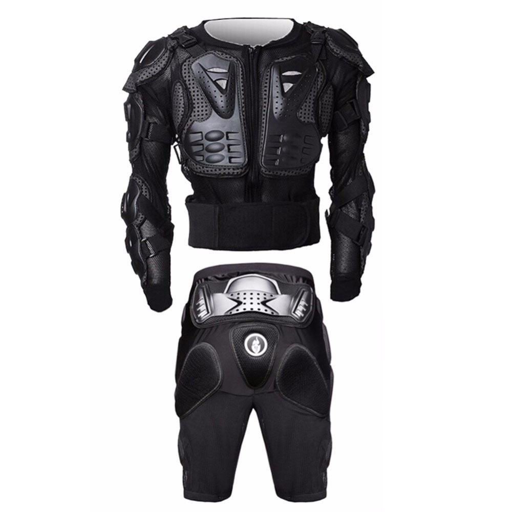 Motocross Armor Downhill Protective Gears Off Road Pants Kneepads MTB Body Protection Bike Motorcycle Cycling Protective Gear herobiker armor removable neck protection guards riding skating motorcycle racing protective gear full body armor protectors