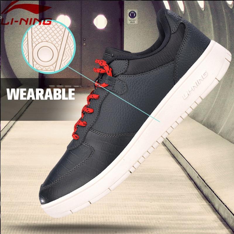 все цены на Li-Ning Men LN Justice The Trend Walking Sport Classic Wearable Anti-Slippery Sneakers LiNing Sports Shoes AGCM045 YXB117 онлайн