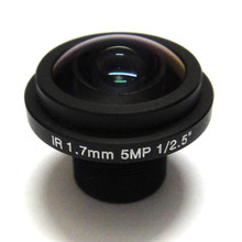 HD 5mp Fisheye 1.7mm cctv Lens Wide Angle 1/2.5″ M12 IR Board for 720p/1080p IP Camera