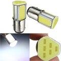 Cob LED 1157 BAY15D alta potencia del coche Auto fuente de luz de freno señal de vuelta aparcamiento bombilla lámpara DC12V blanco alta calidad
