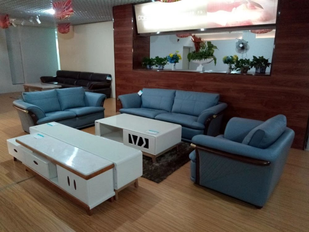 New design home Genuine leather sofa  real leather sofa 3.55 meters length leather sofa 3 PCS IN ONE SET 1/ 3 and 2 people seat