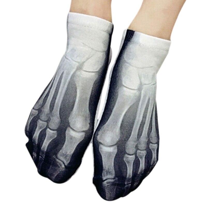 1 par de calcetines 3D carne hueso calcetines barco diversos ...