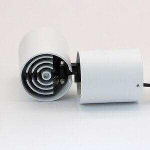 Image 5 - Hartisan 7w pode ser escurecido led downlight led dobrável montado spotlight 360 graus de rotação do teto fundo da lâmpada parede iluminação da sala