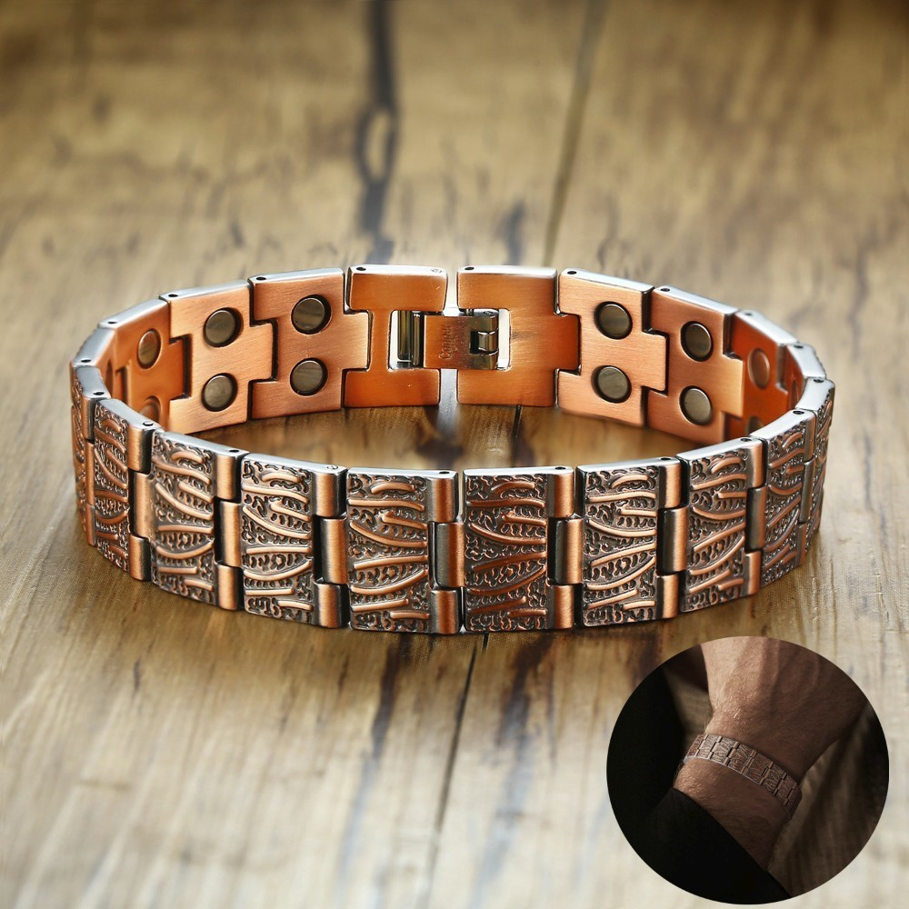Stylish Gents Copper Link...