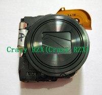 جديد عدسة تكبير ل سوني سايبر شوت DSC-WX300 WX300 DSC-WX350 WX350 كاميرا رقمية إصلاح الجزء الأسود الفضة