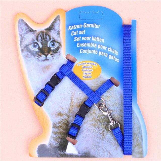 1 pz Regolabile Corda di Nylon Pet Cane del Cucciolo del Gatto di Piombo Guinzag