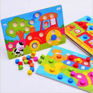 RTBXF Montessori Educational Toys For Children Wooden Game
