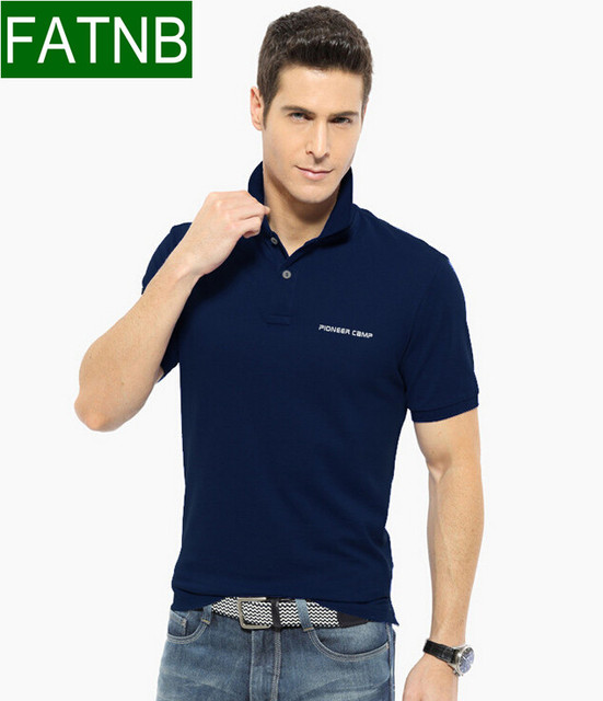 3XL Brand Men Summer Polo Shirt New 2016 Business Casual Mens clothing Breather anti wrinkle short sleeve shirts