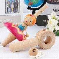 Деревянный спиннинговый Топ кассика, деревянные детские игрушки Beats, принцесса, спиннинг, гироскоп, деревянная детская спортивная игрушка 90