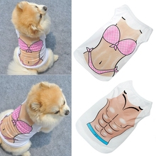 Pet Puppy Dog Cat Down jacket Sweater Clothes Vest T Shirt Dress Apparel