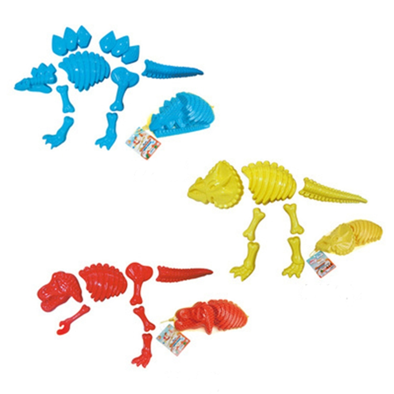 Funny Dinosaur Skeleton Bone Sand Mold For Baby Children Kids Summer Beach Toys