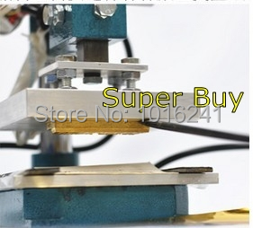 Neue Heißfolienprägemaschine Lederprägemaschine 2 in 1 (10x8cm) - Büroelektronik - Foto 2