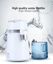 Корпус применение 4L дистиллятор дистиллированной воды машина дистилляции очиститель нержавеющая сталь фильтр для воды русский инструкции