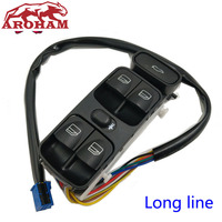 Aroham Free Shipping A2038200110 NEW Power Control Window Switch For MERCEDES C CLASS W203 C180 C200 C220 2038210679 A2038210679