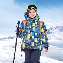 Kids Winter Ski Suit Girl Snowboard Jacket + Snow Pants Waterproof Boy Outdoor Sports Skiing Set Warm and Windproof Terno Ski 2018 new lover men and women windproof waterproof thermal male snow pants sets skiing and snowboarding ski suit men jackets