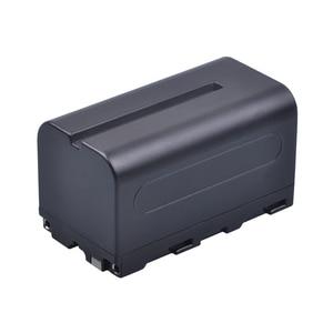 Image 3 - 2Pcs 5200mAh NP F750 NP F770 NP F750 סוללה Akku + LCD USB מטען עבור Sony NP F970 F960 f550 F570 QM91D CCD RV100 TRU47E