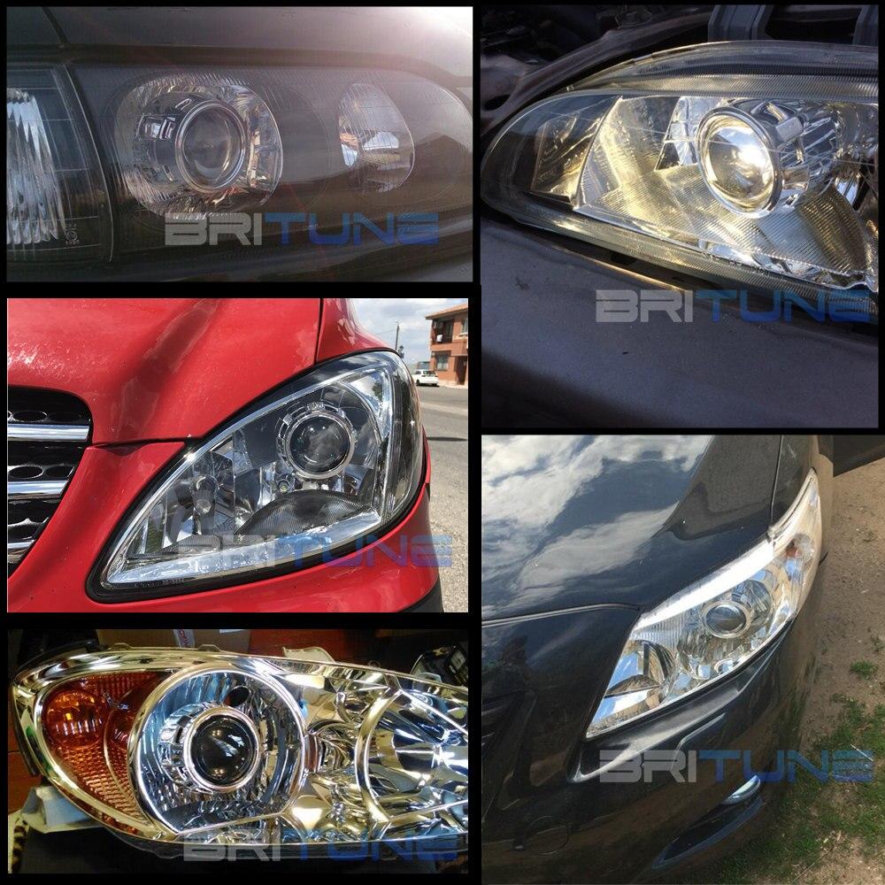 2.5 pouces mise à niveau Leader complet en métal HID phare bi-xénon projecteur lentille phare complet kit H4 H7 4300K 6000K 8000K voiture phare - 6