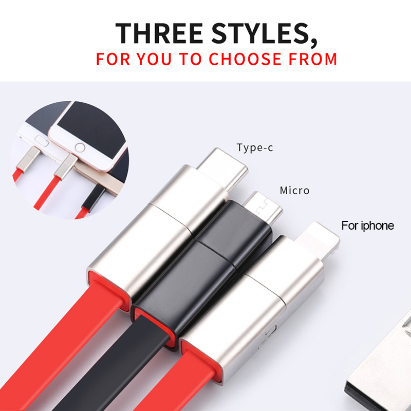 Image 5 - GARAS Reused USB Cable For iPhone/Micro USB/Type C Fast Charger Data Cable For iPhone/iPad/Xiaomi/Huawei Reusable USB Cable 1.5m-in Mobile Phone Cables from Cellphones & Telecommunications
