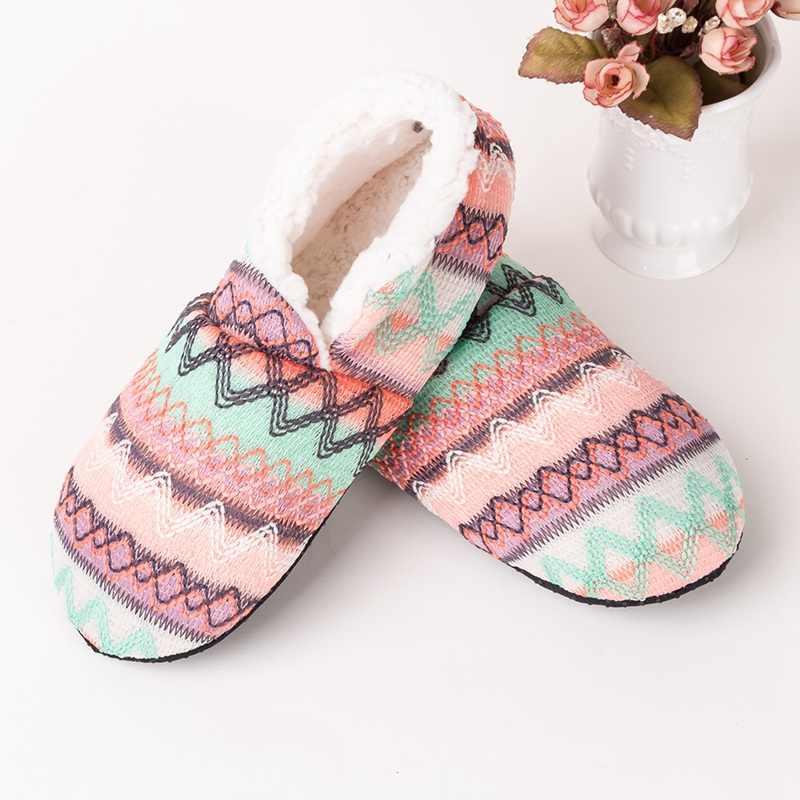Winter Warm Socks Slippers Women Home
