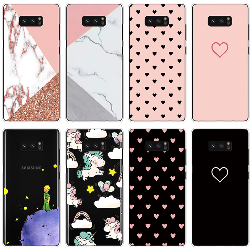 Girly Couple Marble Phone Case FOR Samsung Galaxy Note 9