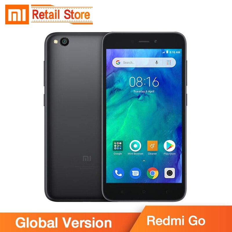 Global Version Xiaomi Redmi GO 1GB 8GB Snapdragon 425 5 0 Display 4G Mobile Phone 3000mAh