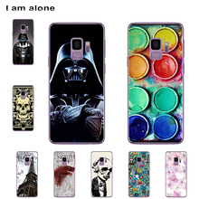I am alone Phone Cover For Samsung Galaxy S9 G960 5.8 inch Solf TPU Cellphone Fashion Cute Case For Samsung Galaxy S9 G960 куртка onttno g960 2014
