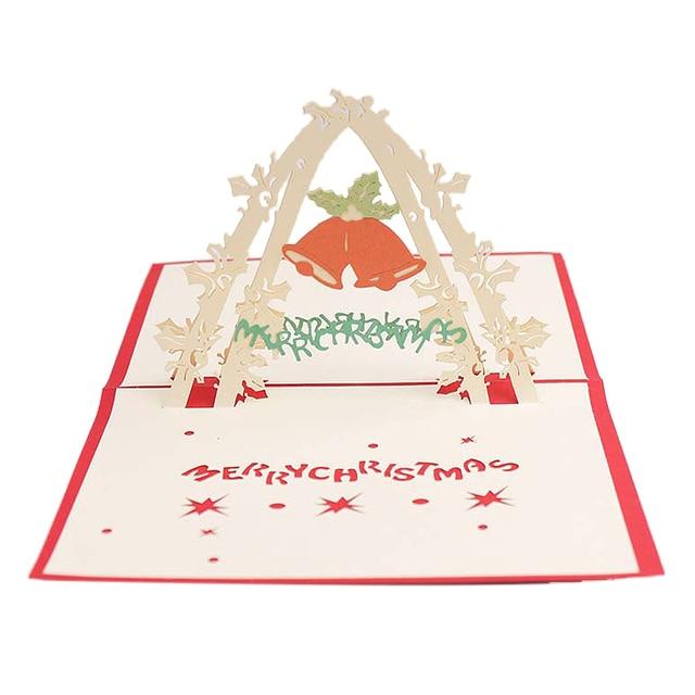 Amato Campanelli 3D Biglietti D'invito Buon Natale Biglietti di Auguri  BE51