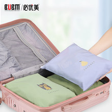 BUBM Waterproof Cartoon Travel Luggage Organizer, Clothes Storage Bags, Underwear Shoe Organiser Shoes Bag Cosmetic Bags(China)