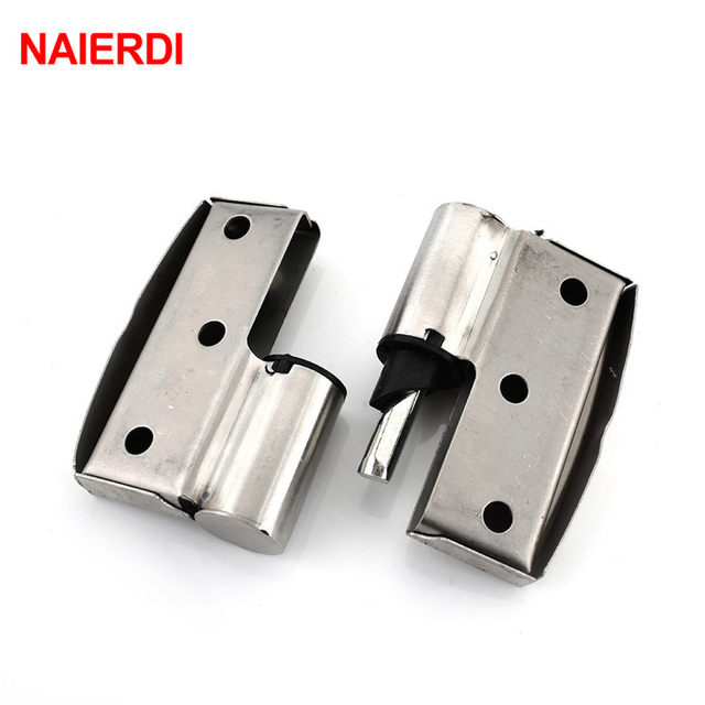 Online Shop NAIERDI Bathroom Partition Stainless Steel Door Hinge - Bathroom partition hinges