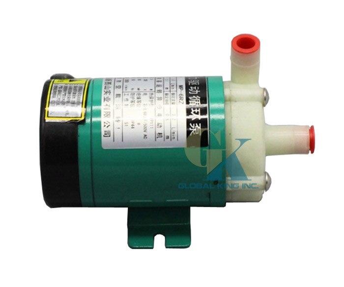 220V Magnetic Drive Water Pump 480LPH Food Grade Chemical Circulation Pump