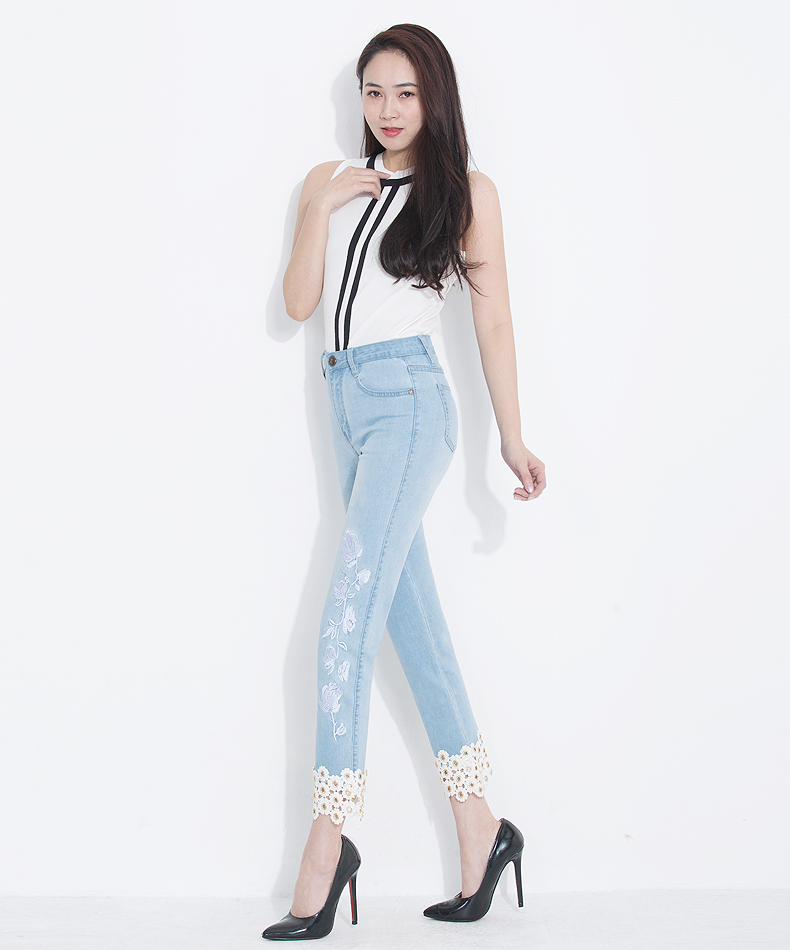 KSTUN jeans woman high waisted stretch straight slim fit jeans vintage push up sexy ladies jean femme 2018 denim pants plus size 13