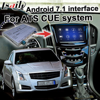 Android GPS navigation box for Cadillac ATS 2014 etc video interface mylink CUE system with wireless Carplay